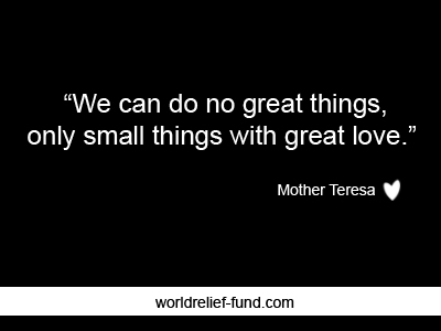 Quotes About Charity Stunning 25 Best Inspirational Charity Quotes  World Relief Fund  Charity