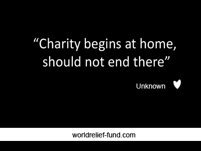 charity quotes famous