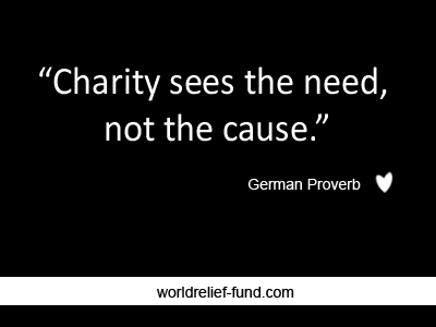 Charity Inspirational quotes